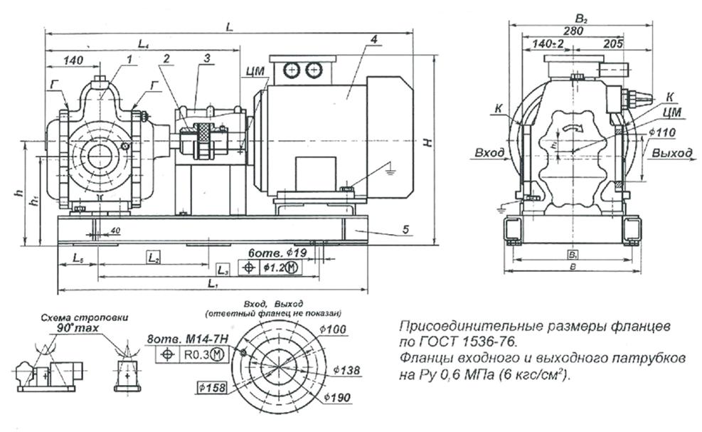 gabaritnyj-chertezh-nasosnyx-agregatov-sh80-25